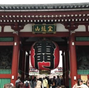 Introducing the Sensoji Temple part-1