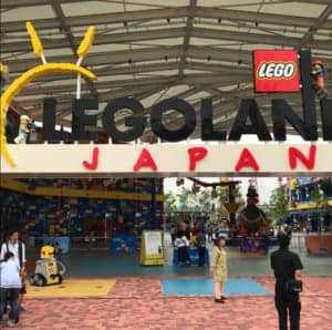 How to visit the  LEGO LAND Japan
