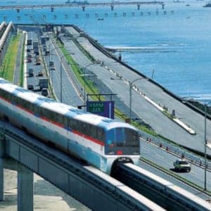 How to get to the central Tokyo from Haneda airport. (Tokyo monorail)