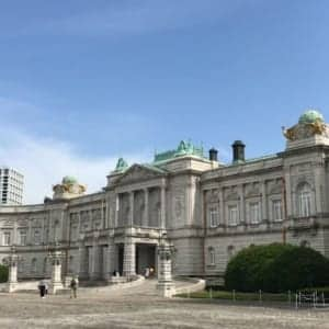 State Guest House, Akasaka Palace (From Yotsuya Station)