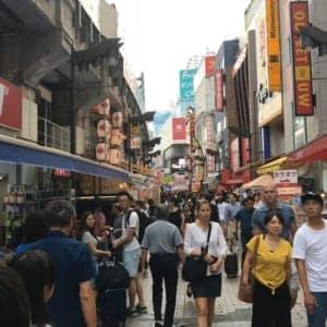 去往上野美国街(Ameyoko)的路线