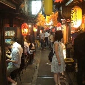 Omoide Yokocho (From JR Shinjuku East Exit)