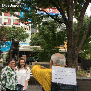涩谷八公犬铜像的去法(从涩谷站)