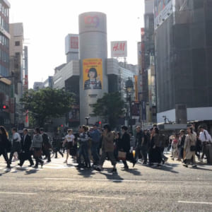 Scramble Crossing(Shibuya)
