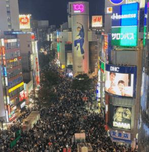 渋谷ハロウィン2019(渋谷)