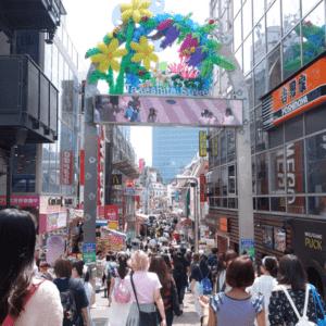 Takeshita Street(Harajuku)