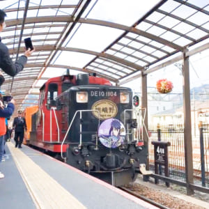 Sagano Romantic Train(Arashiyama)