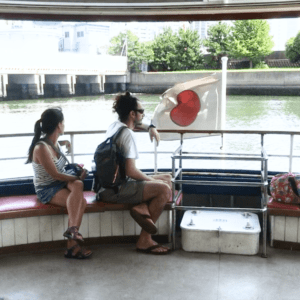 How to ride the Water Bus(Asakusa)