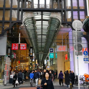 Shinsaibashi-Suji shopping street(Shinsaibashi)